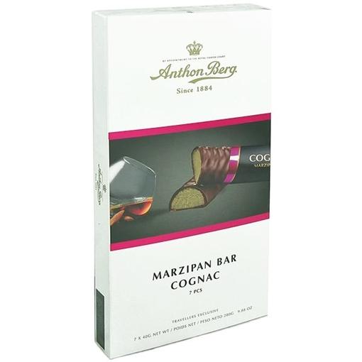 Billede af Anthon Berg Marcipan Bar Cognac 7er 280 g.