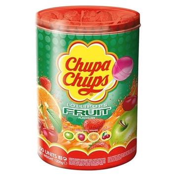 Billede af Chupa Chups Frugt Slikkepinde 12 g.