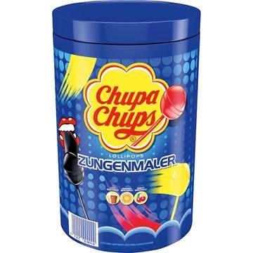 Billede af Chupa Chups Slikkepind (farver tungen) 100 x 12 g.