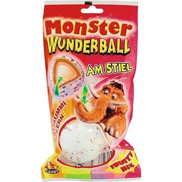 Billede af DOK Monster Magic ball på en pind Frugt Mix 80 g.