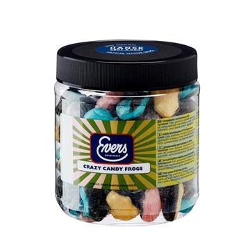 Billede af Evers Crazy Candy Frogs 900 g.