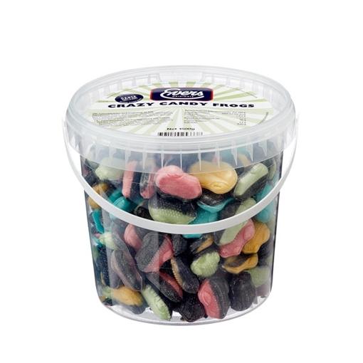 Billede af Evers Crazy Candy Frogs 1500 g.