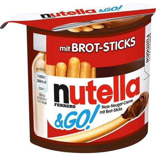Billede af Ferrero Nutella & Go 52 g.