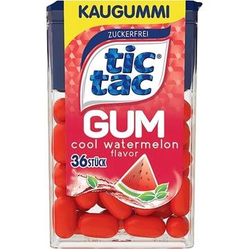 Billede af Ferrero Tic Tac Gum Cool Vandmelon 17,5 g.