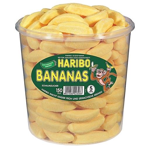 Billede af Haribo Bananas 1050 g.