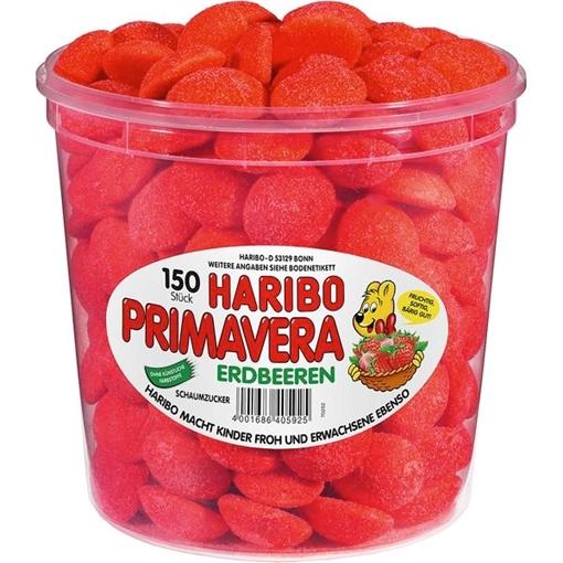 Billede af Haribo Jordbær 1050 g.