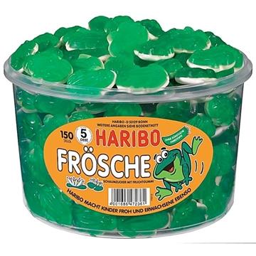 Billede af Haribo Frösche 1050 g.
