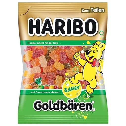 Billede af Haribo Goldbären sauer 200 g.