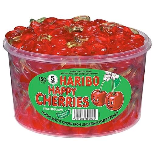 Billede af Haribo Happy Cherries 1200 g.