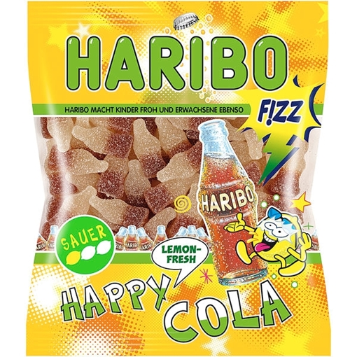 Billede af Haribo Happy Cola Lemon 200 g.