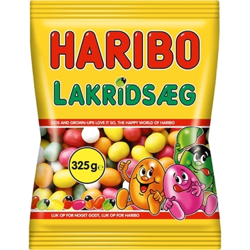 Billede af Haribo Lakridsaeg 325 g.