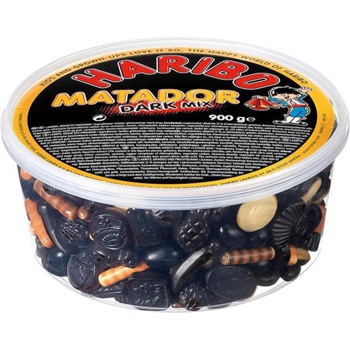 Billede af Haribo Matador Dark Mix  900 g.
