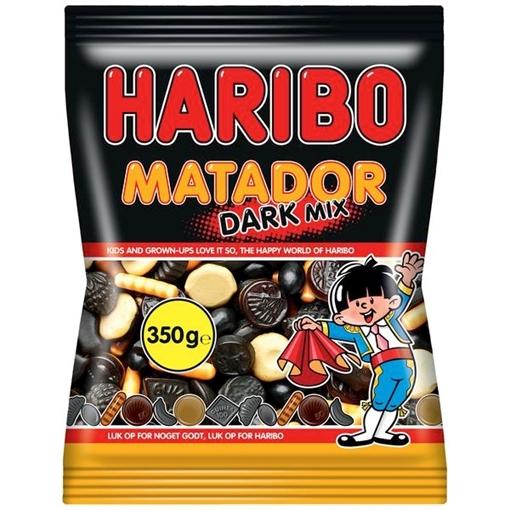 Billede af Haribo Matador Mix Dark 350 g.