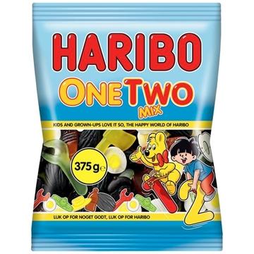 Billede af Haribo One Two Mix 375 g.