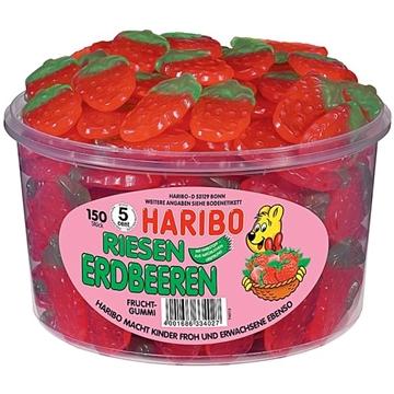 Billede af Haribo Riesen Erdbeeren 1350 g.