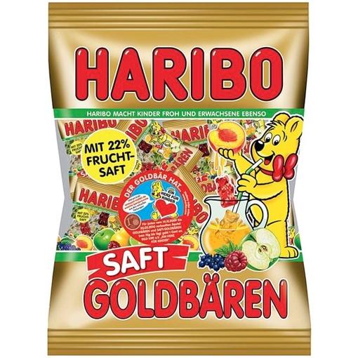 Billede af Haribo Saft-Goldbären Minis 220 g.