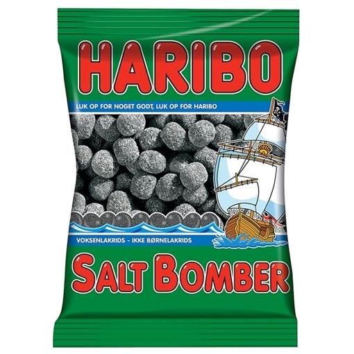 Billede af Haribo Saltbomber 325 g.