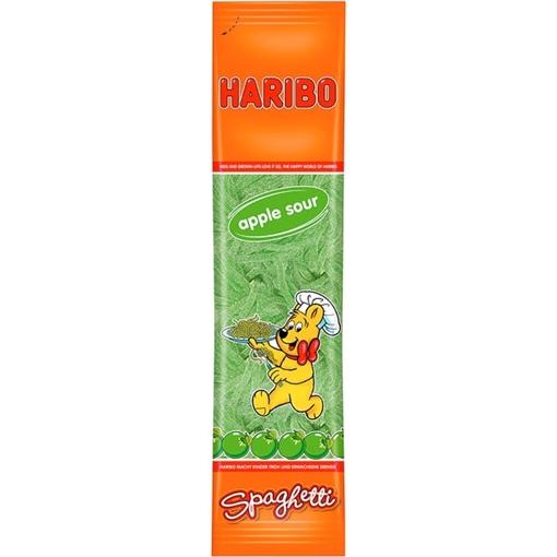 Billede af Haribo Spaghetti Æble Sur 200 g.