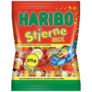 Billede af Haribo Stjerne Mix 375 g.