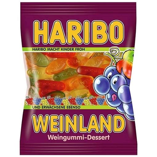 Billede af Haribo Weinland Weingummi 200 g.
