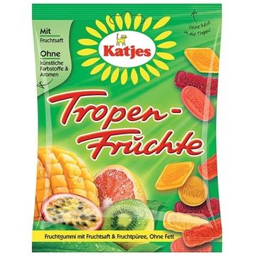 Billede af Katjes Tropen Früchte 200 g.