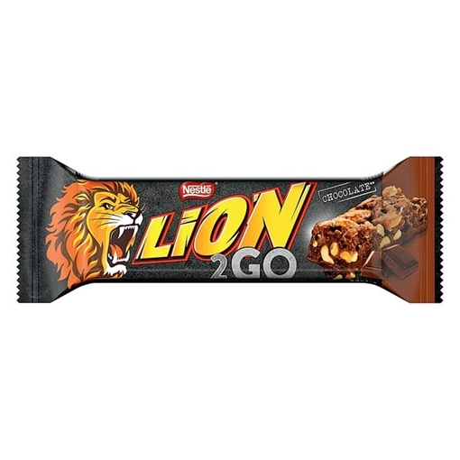 Billede af Lion 2go Bar Chocolate 33 g.