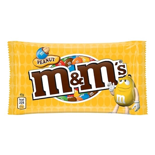 Billede af M&M's Peanut 45 g.