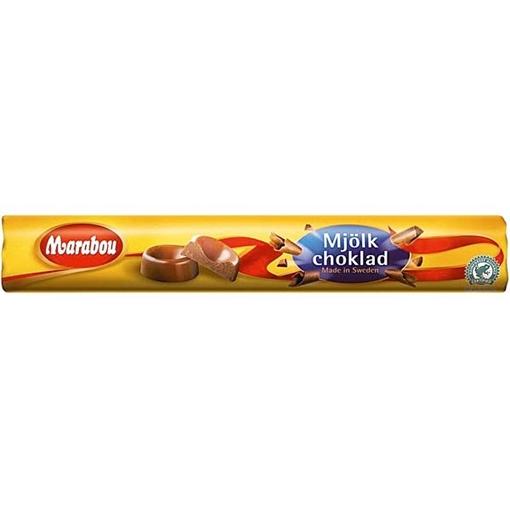 Billede af Marabou Mælkechokolade Rulle 74 g.