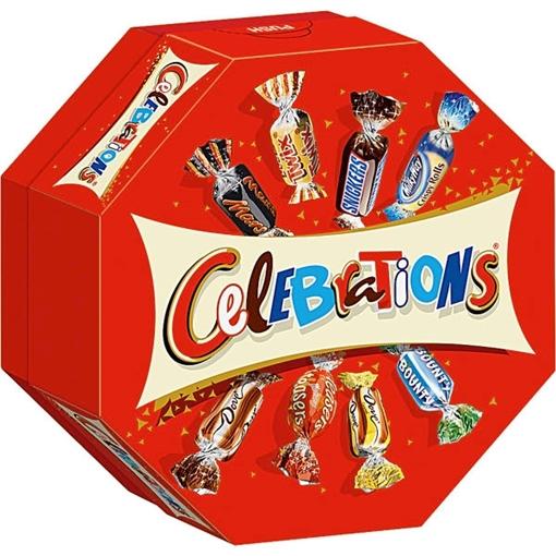 Billede af Mars Celebrations 186 g.