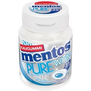 Billede af Mentos Gum Pure White Sweet Mint 70 g.