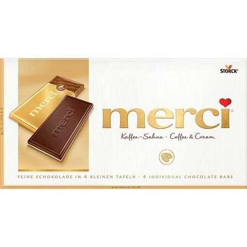 Billede af Merci Kaffe - Fløde 100 g.
