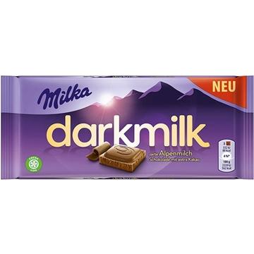 Billede af Milka Dark Milk Alpenmilch 85 g.
