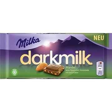 Billede af Milka Dark Milk Mandel 85 g.
