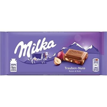 Billede af Milka Trauben-Nuss 100 g.