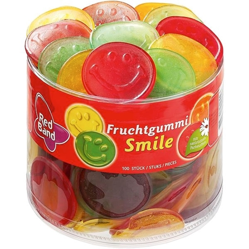 Billede af Red Band Fruchtgummi-Smile 1200 g.
