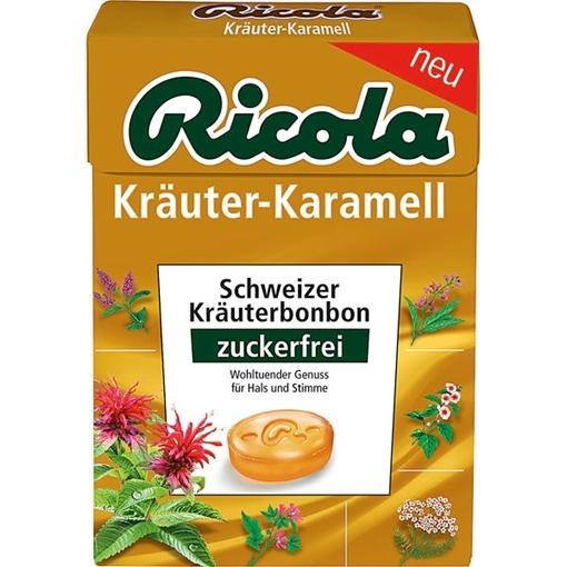 Billede af Ricola Kräuter Karamel 50 g.