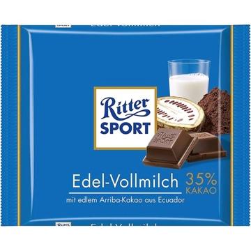Billede af Ritter Sport Edel-Vollmilch 100 g.