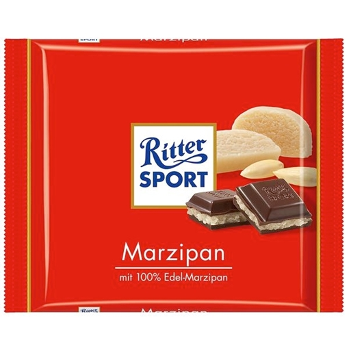 Billede af Ritter Sport Marzipan 100 g.