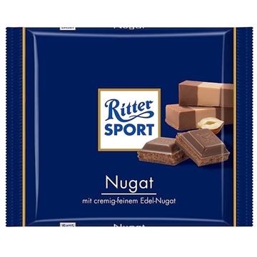 Billede af Ritter Sport Nugat 100 g.
