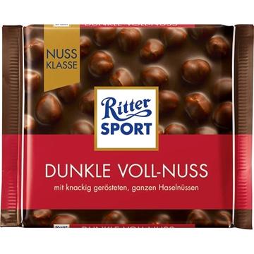Billede af Ritter Sport Nuss-Klasse Dunkle Voll-Nuss 100 g.