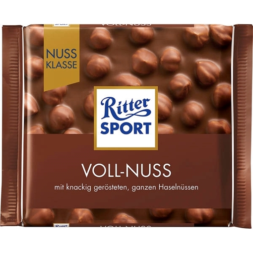 Billede af Ritter Sport Nuss-Klasse Voll-Nuss 100 g.