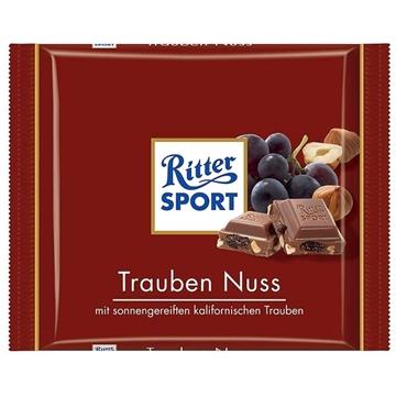 Billede af Ritter Sport Trauben-Nuss 100 g.