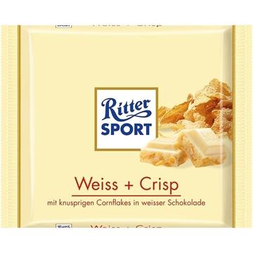 Billede af Ritter Sport Weiss+Crisp 100 g.