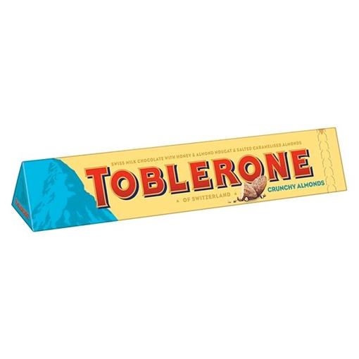 Billede af Toblerone Crunchy Almonds 360 g.