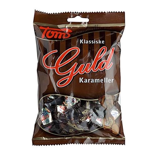 Billede af Toms Guld Karameller 100 g.