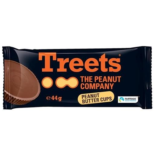 Billede af Treets Peanut Butter Cups 2er 44 g.