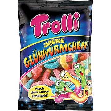 Billede af Trolli Saure Glühwürmchen 200 g.