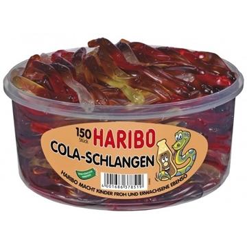 Billede af Haribo Cola-Schlangen 1050 g.