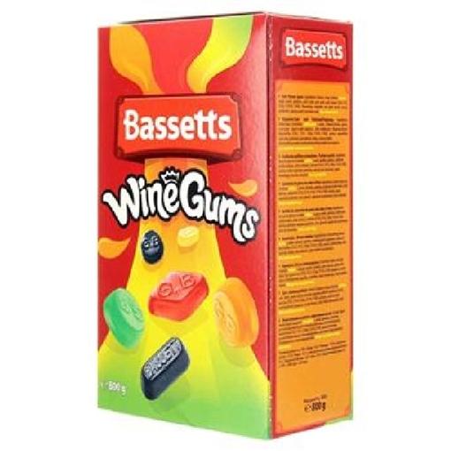 Billede af Bassett's English Winegums 800 g.