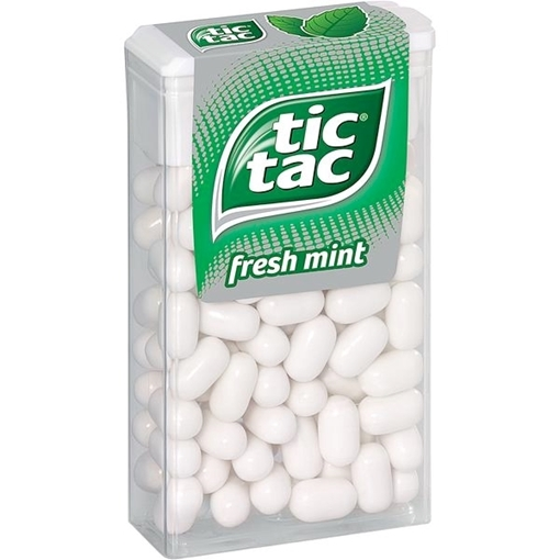 Billede af Ferrero Tic Tac Mint 100er 49 g.